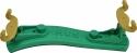 Kun Schulterstütze Collapsible Mini 1/16 - 1/4 Kunststoff einklappbare Füße verstellbar grün