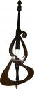 Steinbach 3/4 E-Kontrabass SEDB-100 mit Bogen Kolophonium und gepolsterter Tasche