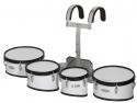 Steinbach Marching Drum Set 8 Zoll & 10 Zoll & 12 Zoll & 13 Zoll Set mit Halter