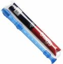 Stagg REC-GER/TBL Blockflöte deutsche Griffweise Kunststoff mit Tasche blau