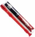 Stagg REC-GER/TRD Blockflöte deutsche Griffweise Kunststoff mit Tasche rot