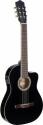 Stagg C546TCE BK Elektroakustik Klassik-Gitarre cutaway mit 4-Band EQ