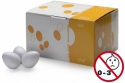 Stagg EGG-50 WHM Box mit 50 Plastik Sch�tteleier weiss