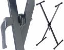 Stagg KXS-A7 Schnellverschluss Keyboardständer 10-95 cm schwarz bis 30 kg