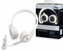 Stagg SHP-I500 WHH Deluxe Stereo Kopfhörer für mobile Geräte incl. Luxus-Transporttasche