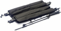 Stagg MISB SET 4 starke schwarze Nylon Falttasche mit Innentaschen für 4 x Mikrofon-Stative