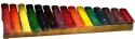 Stagg XYLO-J15 RB Xylophon mit 15 Klangplatten bunt