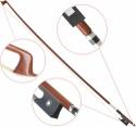Steinbach 1/32 Geigenbogen bessere Qualität kantige Stange aus Holz mit Rosshaar