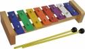 Steinbach Glockenspiel 8 bunte Klangplatten diatonisch