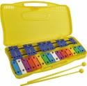 Steinbach Glockenspiel Sopran 25 bunte Klangplatten chromatisch Tonumfang von g''- g''''