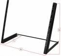 Steinbach abgeschrägtes 19 Zoll /8 HE Rack Desktop-Stativ für Audio-Equipment