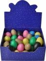 Steinbach Egg Shaker 45 Stück bunt sortiert inkl. ockerbraun und schwarz in Displaybox