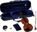 Steinbach 1/32 Geige im SET Ebenholzgarnitur rotbraun satiniert angeflammter Boden