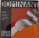 Thomastik 135BM Dominant Saitensatz 3/4 Geige/Violine E-Saite Chromstahl mittel