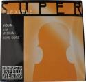 Thomastik 15A Superflexible Saitensatz 4/4 Geige/Violine Stahl Chrom umsponnen mittel