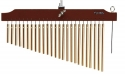 Tycoon Chimes TIM-25 GBR einreihig 25 vergoldete Klangstäbe