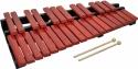 Steinbach Xylophon mit 30 Klangplatten rot Holz zweireihig