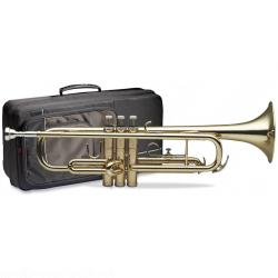 Stagg 77-T/SC B-Trompete im Softcase mit Edelstahlventilen
