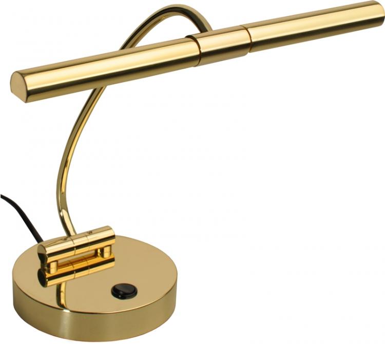 Klavierlampe Klavierleuchte Schreibtischlampe Nachttischlampe Messing inkl Birne