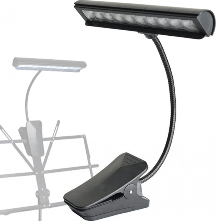 steinbach mehrzweck orchesterpult led leuchte clip on klemmleuchte notenpultlicht. Black Bedroom Furniture Sets. Home Design Ideas