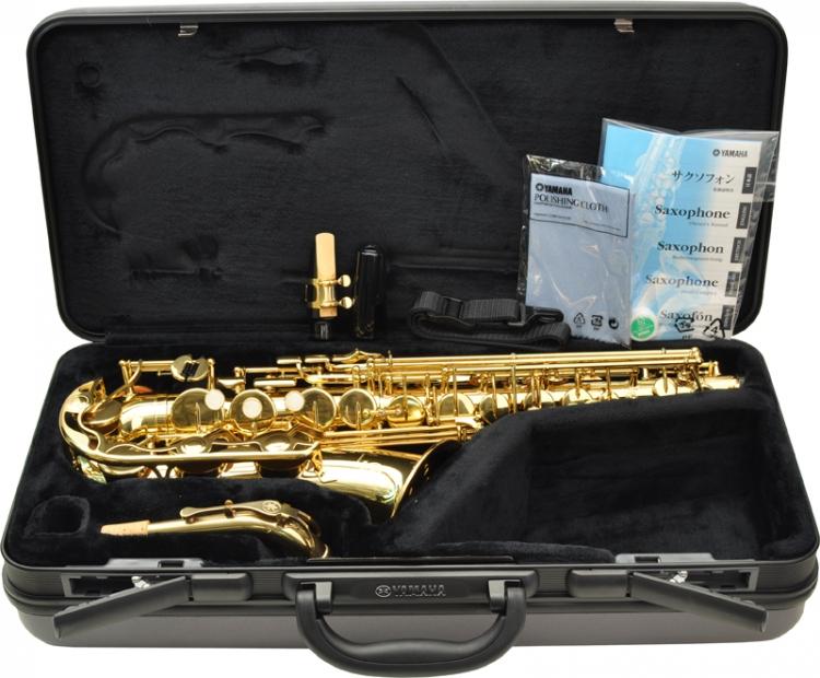 b stock yamaha yas 275 alt saxophon mit einstellbarem. Black Bedroom Furniture Sets. Home Design Ideas