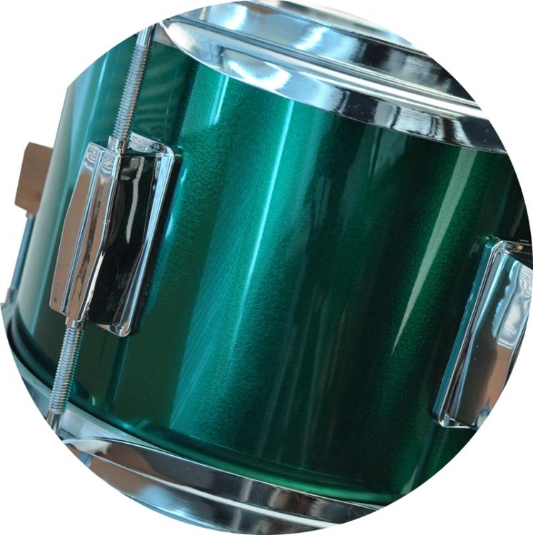 Steinbach Kinderschlagzeug 14 Zoll grün Altersempfehlung ca 2-7 Jahre