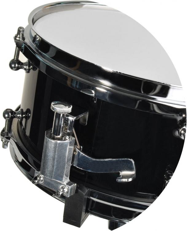 steinbach snare drum 10x5 zoll f r kinderschlagzeug schwarz inkl st nder sjsd 105 bk snare drum. Black Bedroom Furniture Sets. Home Design Ideas