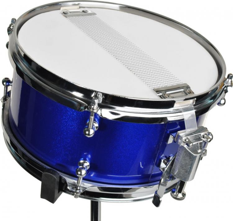 steinbach snare drum 10x6 zoll f r kinderschlagzeug blau inkl st nder sjsd 106 bl snare drum 10. Black Bedroom Furniture Sets. Home Design Ideas