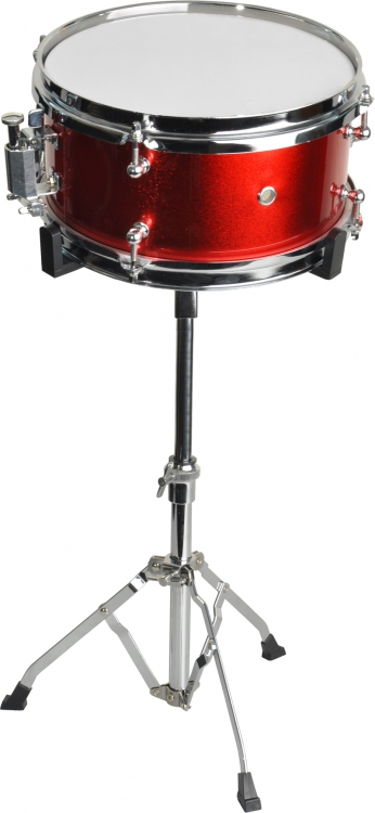 steinbach snare drum 10x6 zoll f r kinderschlagzeug rot inkl st nder sjsd 106 rot snare drum 10. Black Bedroom Furniture Sets. Home Design Ideas